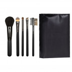 5 BRUSHES CASE, BLACK