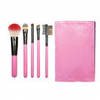 5 BRUSHES CASE, PINK